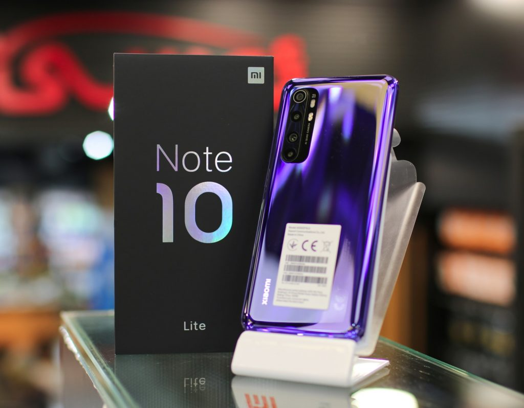 Xiaomi Mi 10 Note Lite